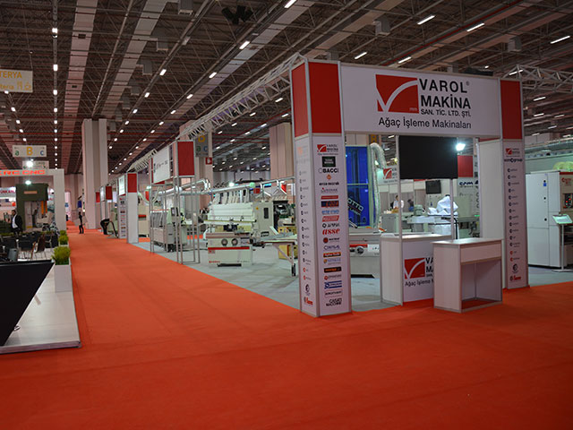 WOODTECH - 32. INTERNATIONAL WOOD PROCESSING MACHINES, CUTTING TOOLS, HAND TOOLS FAIR - TÜYAP/İSTANBUL 2019